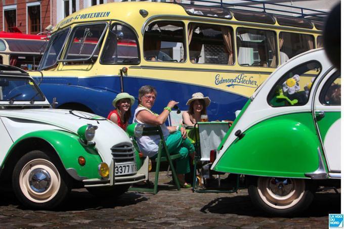 """Le Saurer à """"La route des vacances"""" en 2012."""