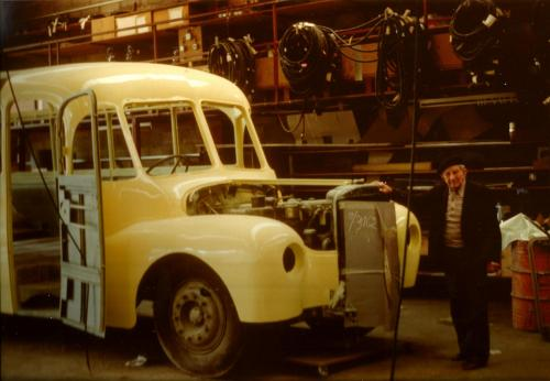 Restauration autocar Saurer