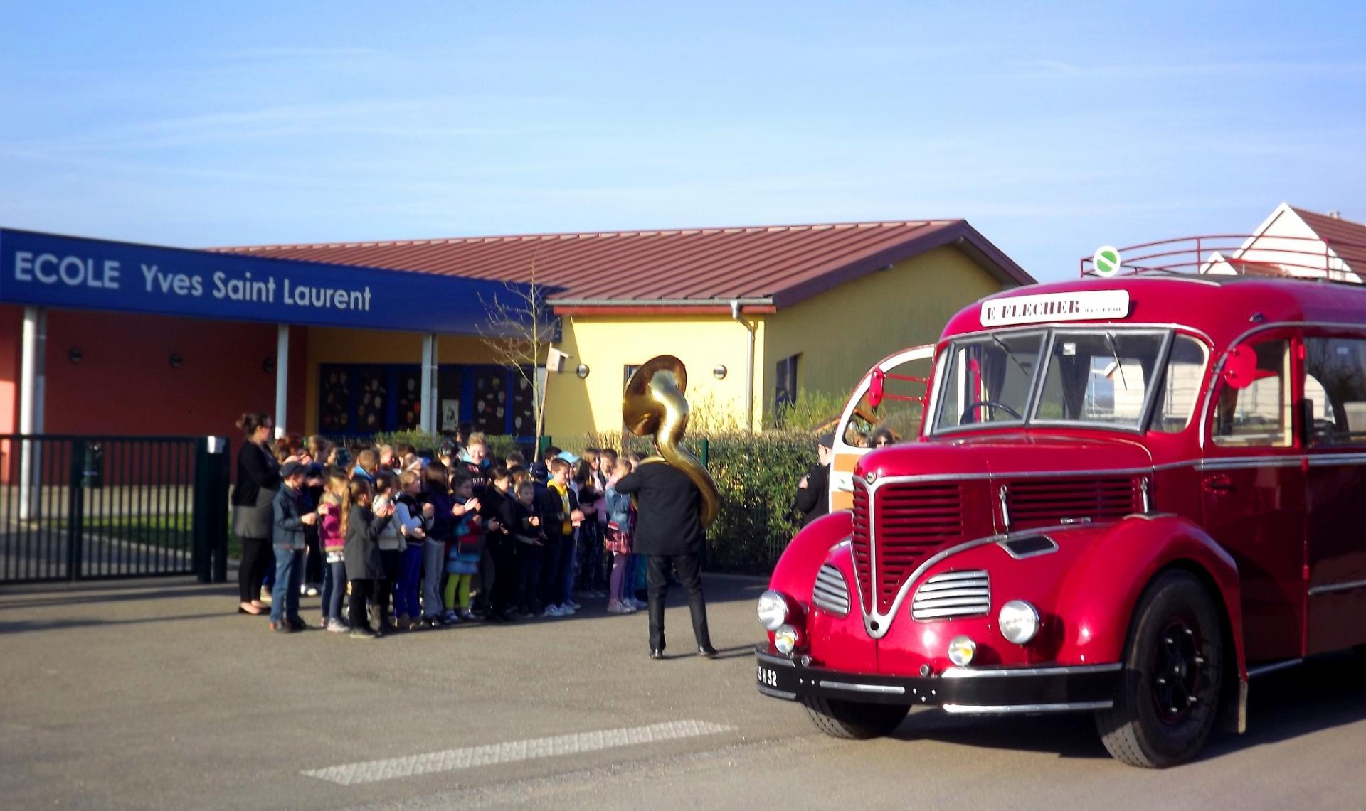 Initiation à la musique pour les enfants de l'école de Heidolsheim.