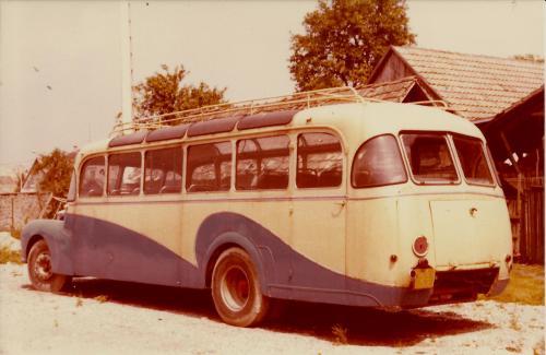 Vieux bus saurer
